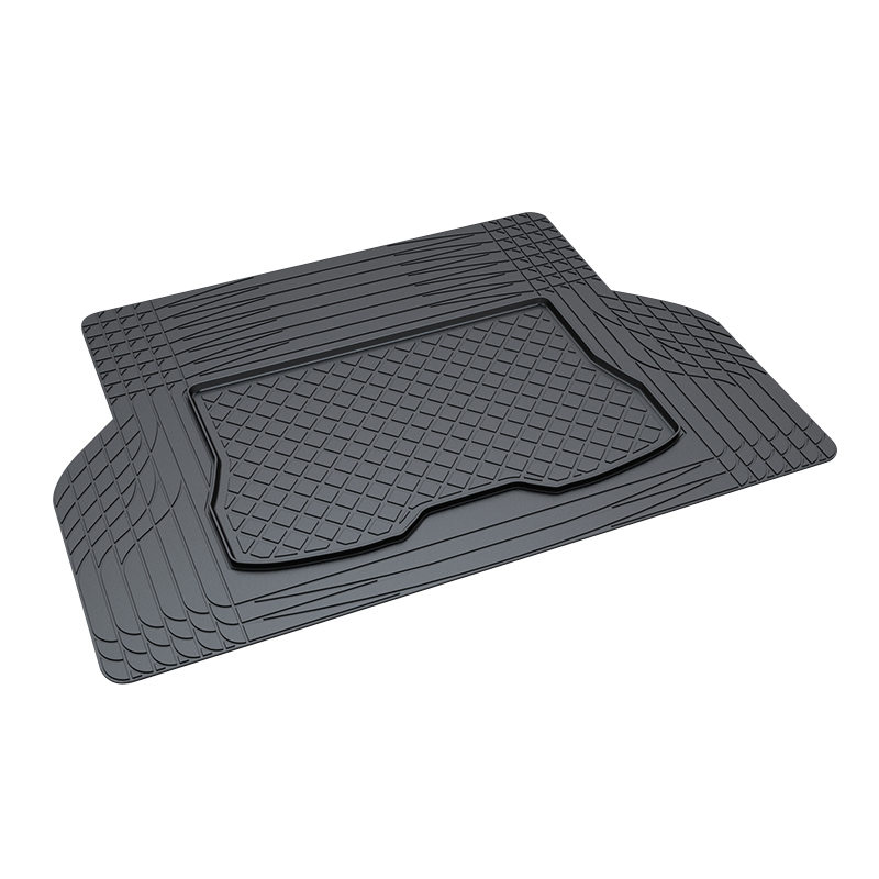 Trunk Tray Mat for Universal trunk tray,Premium Waterproof Anti-Slip Car in Heavy Duty,Black