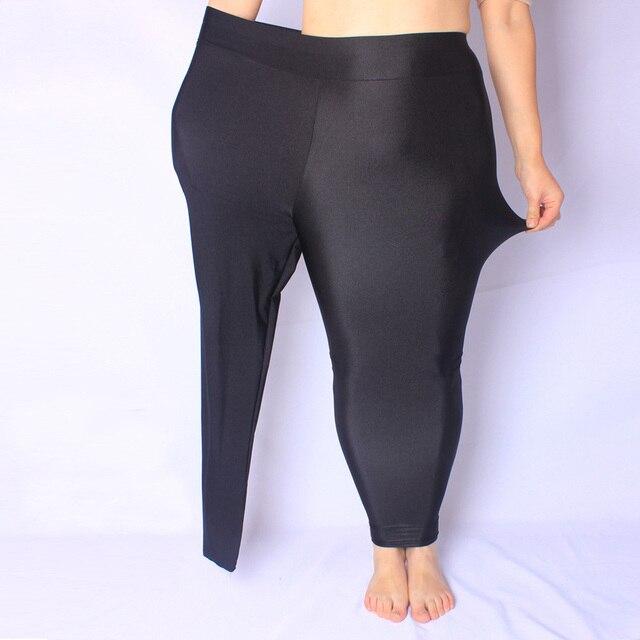 Осень женская Черный Мода Брюки Большой размер XXXL 5XL Супер Эластичное Женщин Все-Матч Брюки Тонкие Прекрасные Брюки