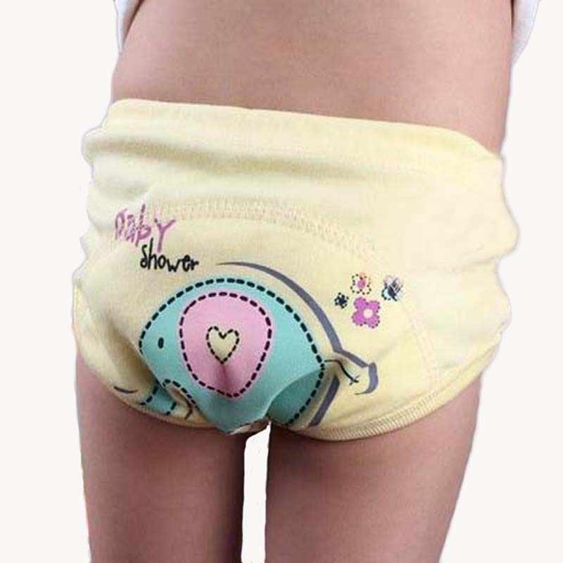 Sample 1pcs Reusable Baby Training Pants Toddler Kids Cheap Diaper Panties Newborn Infant Underwear