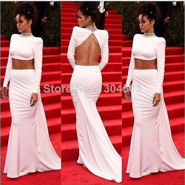 Celebrity Two Piece Dresses