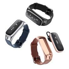Talkband смарт-браслет сердечного ритма сна Monitores шагомер группы гарнитура Bluetooth наушники для iphone андроид Поддержка иврит