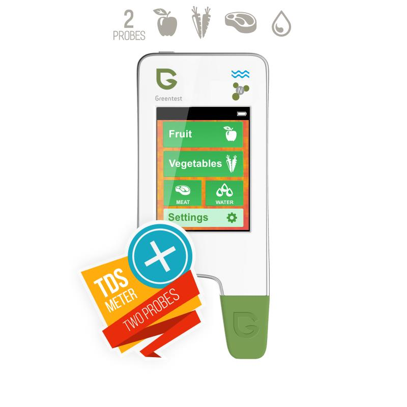 GREENTEST 3 High Accuracy Read Digital Food Nitrate Tester,fruit and vegetable Nitrate Detection/ water hardness Health Care
