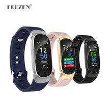 QW16 Waterproof Smart Bracelet Band IP67 Heart Rate Fitness Tracker Smartwatch Remote Control Wristband Men Watch