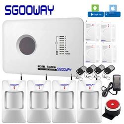 Sgooway fabryki Smarts rosyjski angielski francuski polski aplikacja na Android i iOS sterowania Home systemy alarmowe bezpieczeństwa system alarmowy gsm w Zestawy systemów alarmowych od Bezpieczeństwo i ochrona na