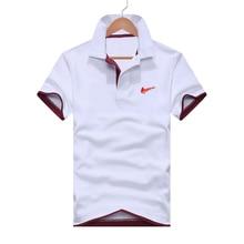 Mens Clothing 2019 Top Mens Polo Shirt Pattern Short sleeved Polo Shirt 14 Color Cotton Fiber Casual Sports Polo Shirt