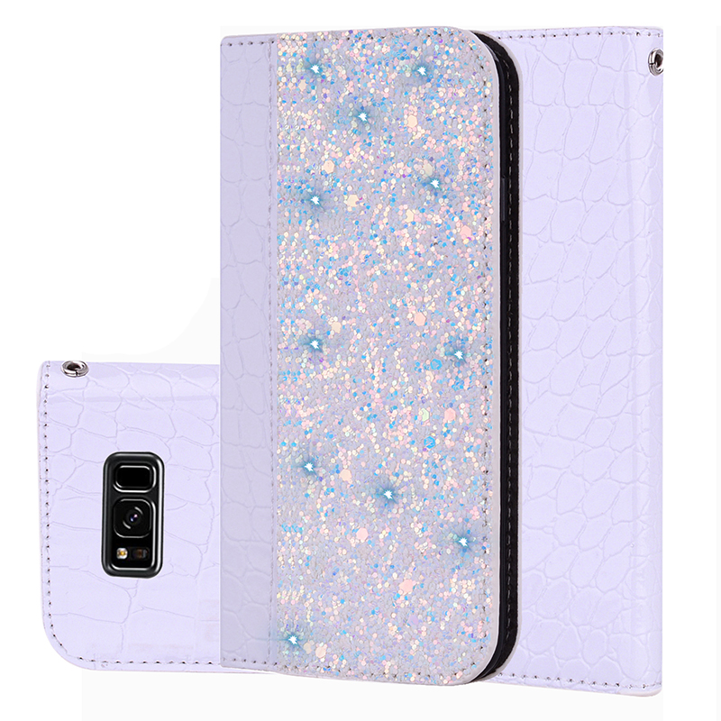 Bling Leather Phone Case For Samsung Galaxy S8 S9 Plus Note9 A8 J4 J6 J8 2018 J3 J5 2016 J7 2017 Prime Pro Cover Casing Holder