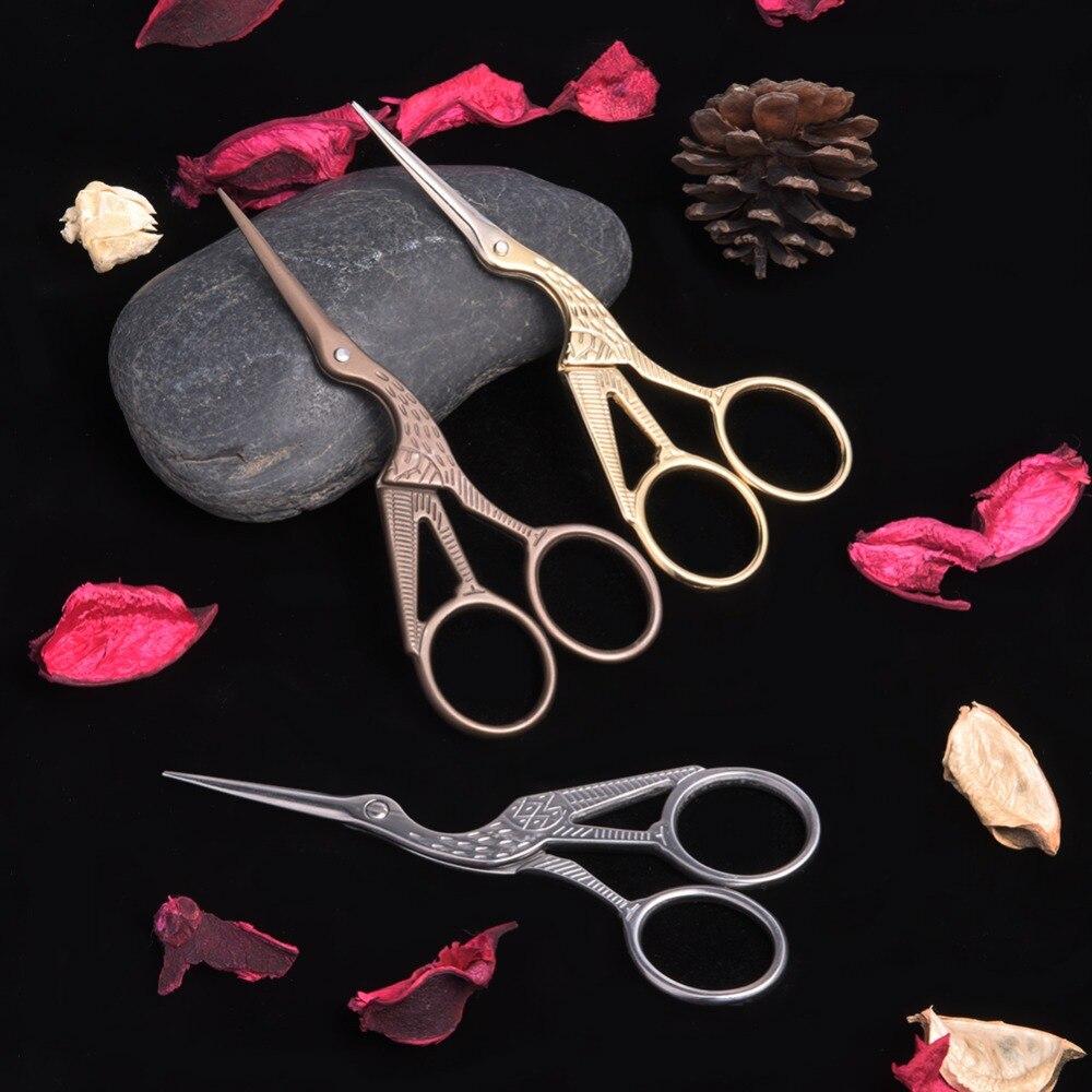 Кран портной ножницы вышивки крестом Европейский ретро классический Винтаж Craft золотое шитье ремесленных DIY дома инструмента 2 размеры