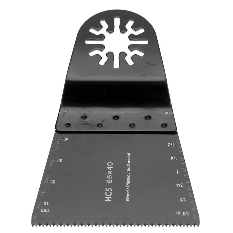 1Pc Multimaster HCS Oscillating Multi Tools Saw Blade Metal Woodworking Cutting Tools For Renovator Tools 65 X 40 Mm