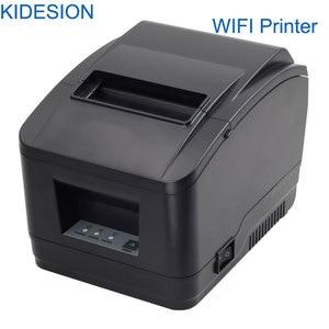 Image 3 - Hoge Kwaliteit 80 Mm Wifi Pos Printer Auto Cutter Printer Wifi + Usb Interface Voor Supermarkt, melk Thee Winkel