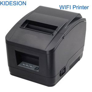 Image 3 - Impresora WIFI POS de alta calidad, 80mm, impresora de recibos automática, wifi + interfaz usb para supermercado, tienda de té de la leche