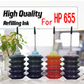 For HP 655 Ink HP655 Cartridge Dye Ink for HP Deskjet 3525 4615 4625 5525 6525 for HP 655 CZ109AE CZ110AE CZ111AE CA112AE