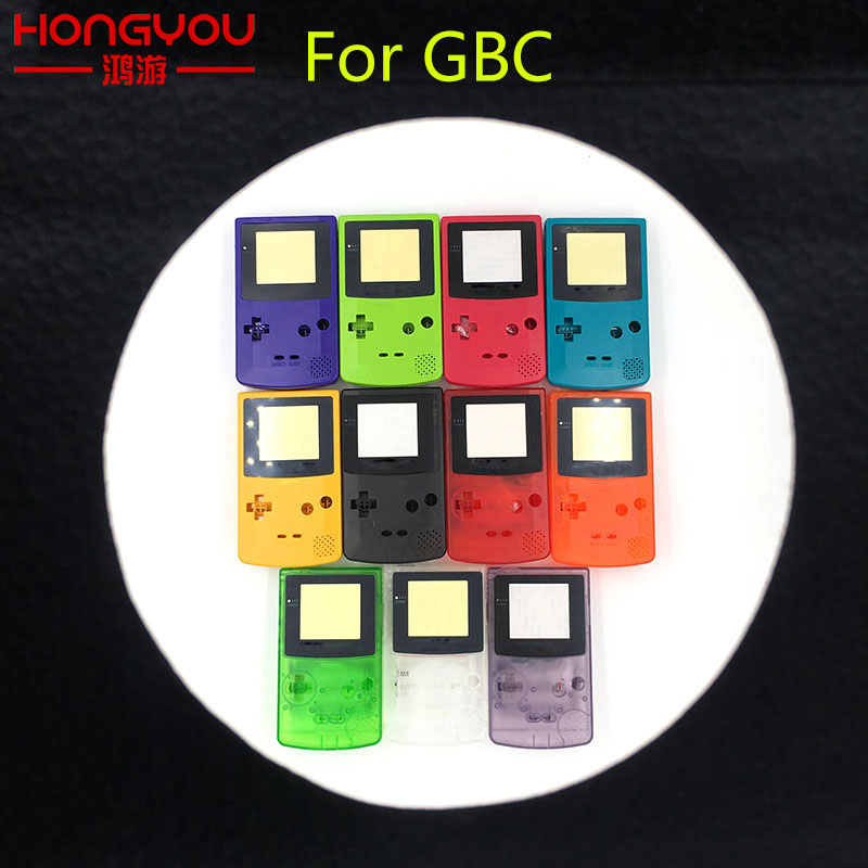5Sets For Nintendo Game Boy Color GBC Repair Part Housing Shell Pack New Full Housing Shell Cover