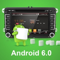 Dual Core Android 4 4 Car Dvd Player VW POLO GOLF 5 6 PASSAT CC JETTA