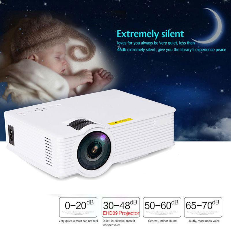 Mini LED Projector 800x400 1000 Lumen Home Cinema Theaters W/Wifi Android OS HDMI/USB/SD/AV/VGA/3.5mm Black/White [show z store] [pre order] fanstoys ft 25 outrider fans toys transformation figure toy