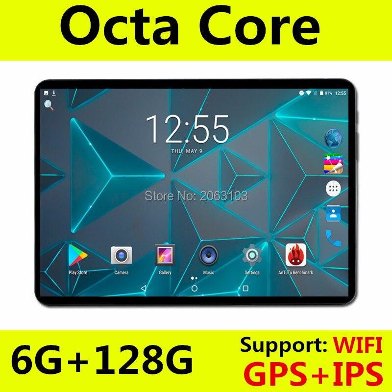 In Stock 100% Original Tablet PC 6GB RAM 128GB ROM MediaTek MTK8752 10 Inch 5500mAh Android 8.0 GPS 8.0 MP Camera 4G LTE Wifi