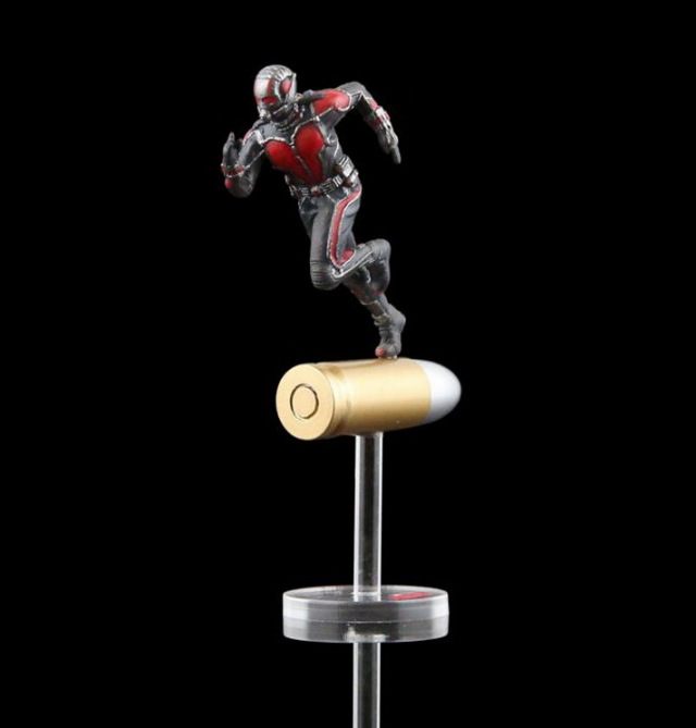 Marvel Civil War Super Hero Ant Man Wasp Mini PVC Action Figure Collectible Model Kids Toys Doll 6.5cm ant man ant man yellow jacket 6 5cm mini figure with acrylic base action figure toys