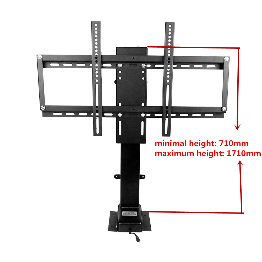где купить 1000mm 700N 30'' to 60'' TV Wall Mount Double Arm/Motorized TV Lift With memory function дешево