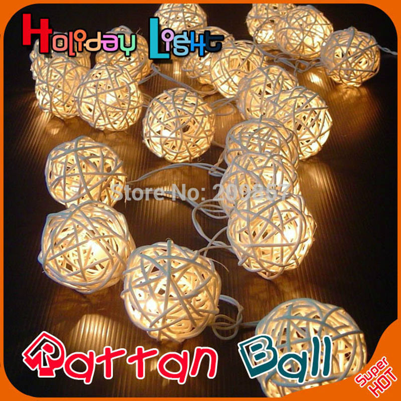 YINGTOUMAN 4m 40LED Rattan Lights String Christmas For Wedding Party Holiday Decoration Xmas Lamp 3AA Battery Power for sony kdl 40ex720 article lamp sts400a28 40led rev 3 for samsung screen lty400hf09 1piece 40led 455mm