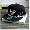New Superman The Boys Baseball Cap hip-hop cap snapback hat children's 3-10 years old boys and girls flat-brimmed hat gorras