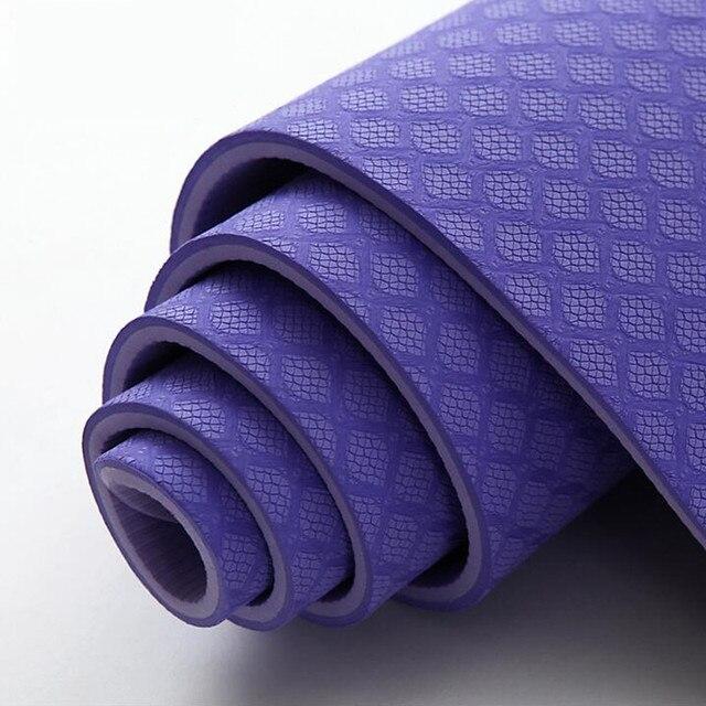 08a359bad4057 Aimida Yoga Mat Pineapple Texture 183cm61cm8mm Thick Non Slip Pad