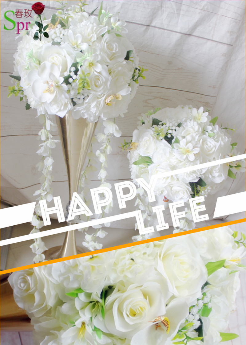 SPR NEWFree shipping!high quality wedding artificial table flower ...