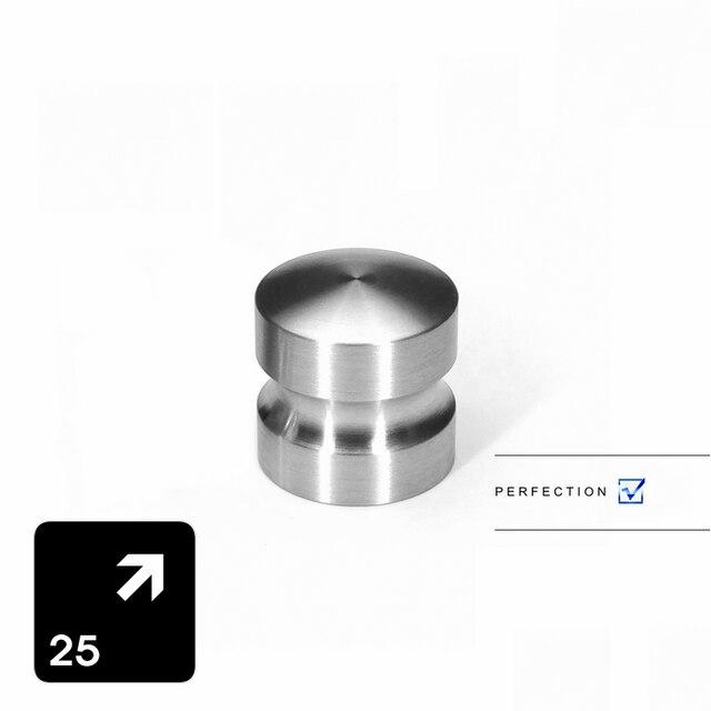 1 Stück) VIBORG 304 Edelstahl 25mm Küchenschrank Schrank Tür züge ...