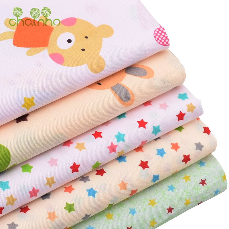 Clearance Sale/Printed Twill Cotton Fabric For DIY Patchwork Quilting Sewing/Tissue Of Baby & Children/Sheet,Pillow,Cushion