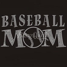 ee6ddcbc58 Buy rhinestones for baseball mom and get free shipping on AliExpress.com