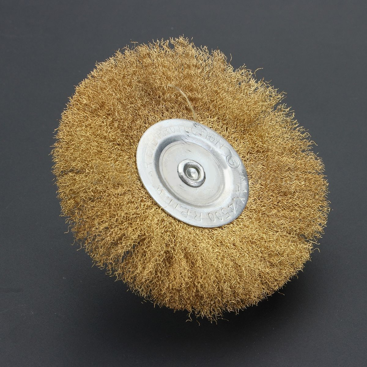 10x rotary mini tools steel wire wheel brushes cup rust cleaning - 1pc Mini Brass Plated Rotary Wire Wheel 100mm Diameter Mayitr Power Drill Brush 1 4 Shank For Cleaning Rust Paint Scale Dirt