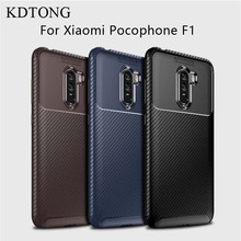 KDTONG Case For Cover Xiaomi Pocophone F1 Fashion Soft Silicone TPU Shockproof F 1
