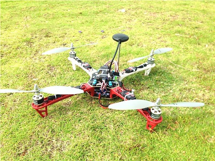 DIY kit multi rotor axis F450 4-axis flight control rack APM FPV aerial aerial drones whole suit novice best practice machine