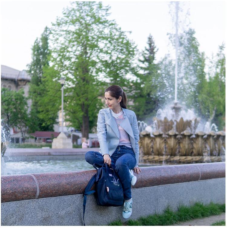 HTB12kAmdq5s3KVjSZFNq6AD3FXa6 Flower Princess Embroidery Nylon Women Backpack Water-resist Laptop Bag College Travel Bagpack for Girl Daypack Mochila Feminina
