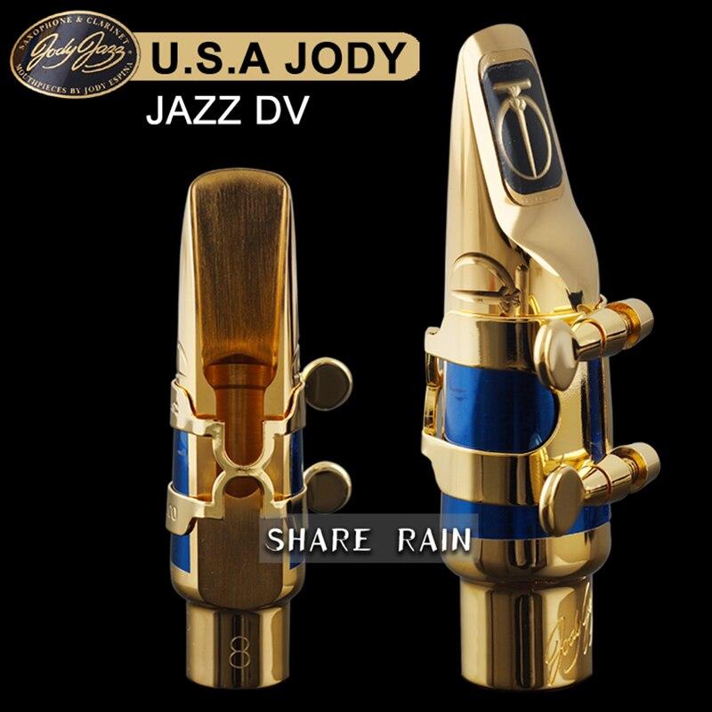U.S.A\JODY JAZZ DV Soprano\Alto \Tenor Sax Mouthpiece\Metal\Mouthpiece\