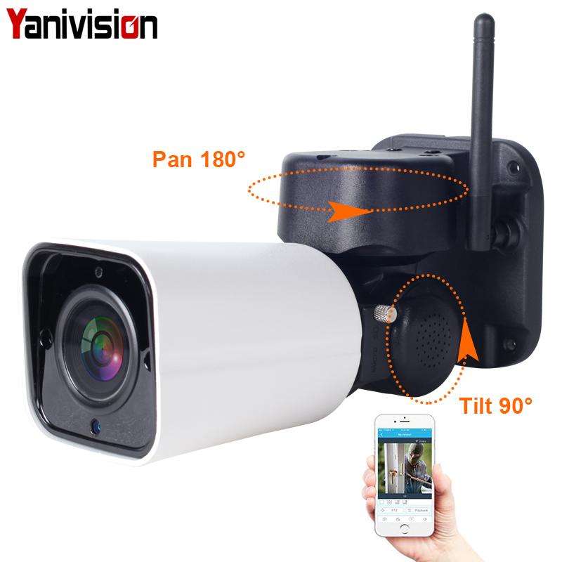 1080 P 2MP PTZ IP Caméra WiFi Bullet Extérieure Sans Fil WiFi caméra imperméable CCTV Sécurité Surveillance 4X zoom optique IP Camara