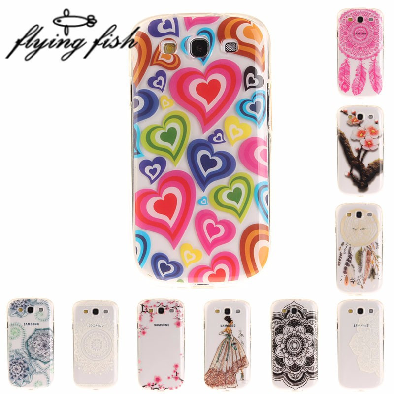 3D Painting Case For Samsung S III Case Soft TPU Phone Cover For Samsung S III S3 S 3 I9300 GT-I9300 Case Silicon Protective Bag
