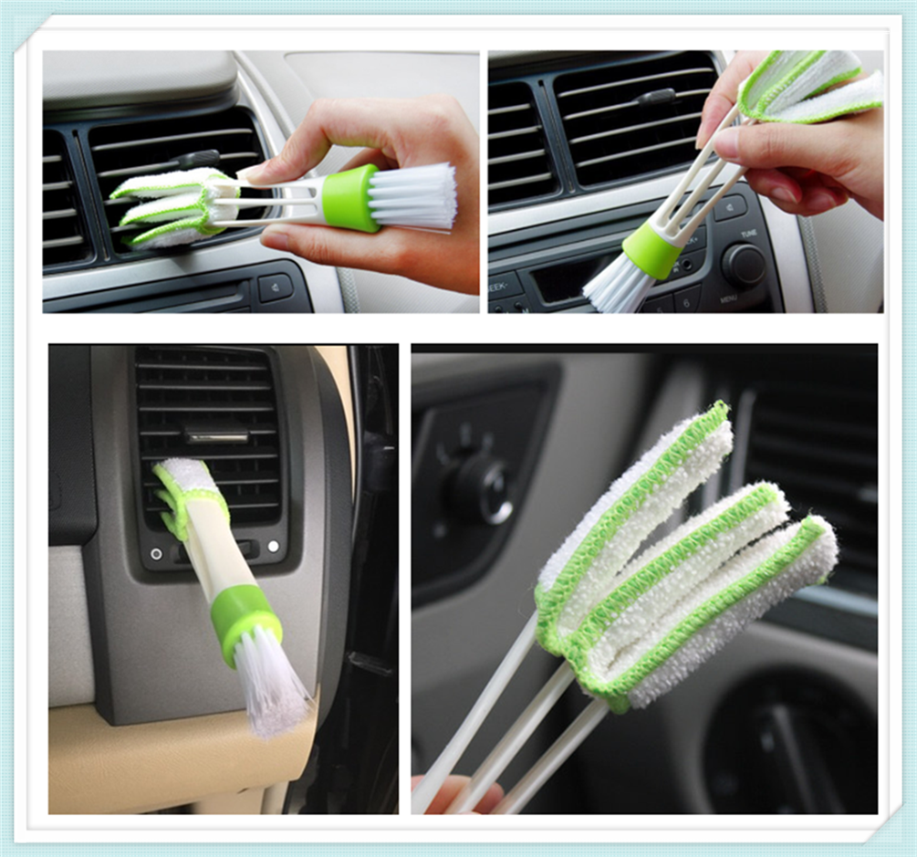 Auto sedan SUV airconditioning care cleaning brush Voor Peugeot 206 307 406 407 207 208 308 508 2008 3008 4008 6008 301 408