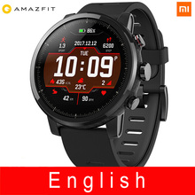 Xiaomi Huami Amazfit Smart Watch Stratos 2 English Version Pace 2 Smart Watch Men With GPS Xiaomi Watches PPG Heart Rate Monitor xiaomi amazfit smart watch english version bip huami gps smartwatch pace lite bluetooth 4 0 heart rate 45 days battery ip68