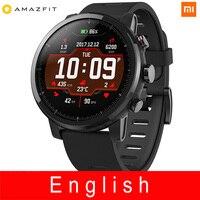 Xiaomi Huami Amazfit умные часы Stratos 2 Английская версия Pace 2 умные часы мужские с gps Xiaomi часы PPG пульсометр