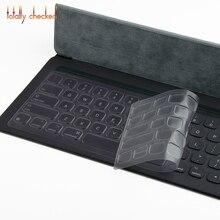 Для ipad pro 12,9 ''-Умная клавиатура для ipad pro 2 12,9 дюймов силиконовая клавиатура Защитная Прозрачная клавиатура из ТПУ
