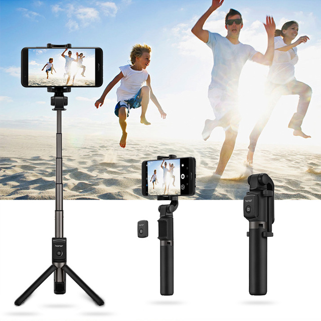 Huawei Honor AF15 Selfie Stick Tripod Bluetooth 3.0 Portable Wireless Bluetooth Control Monopod Handheld for Mobile Phone