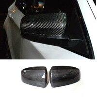 X5 X6 E70 E71 углерода Волокно заменить Тюнинг автомобилей Крыло зеркала Накладка для BMW 2007-2013