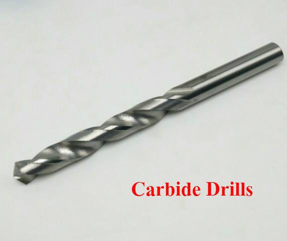 10PCS 1.0mm-3.0mm Solid Carbide Twist Drill Bits, Alloy Straight Shank Drill Hemp Flowers,carbide Drill For Metal (1mm/2mm/3mm)