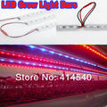 New 10W 0.5M (36Red/36Blue) 10PCS/LOT LED Grow Light Bars Light Strips For Plant Flowers Vegatables GreensAnd Hydroponics System