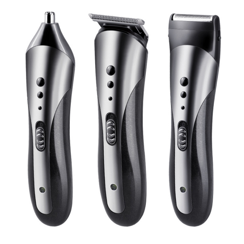 Kemei Men Plug-in Hair Clipper Stainless Steel Quick Trimming Hair Styling Tool European Professional Electric Hair Clipper Hair Clippers
