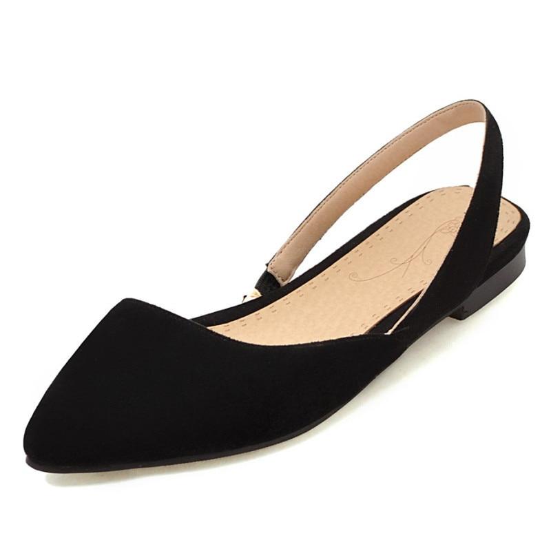 33-43 Summer Shoes Women Slip On Women Flats Big Size Women Loafers siketu sweet bowknot flat shoes soft bottom casual shallow mouth purple pink suede flats slip on loafers for women size 35 40