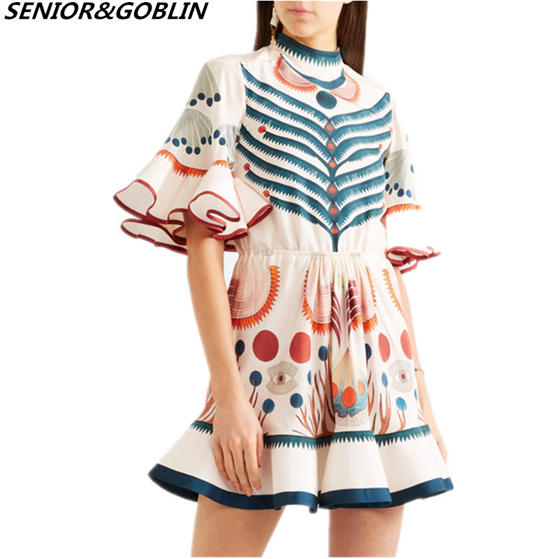 7646a202d Buy dress mushrooms print and get free shipping on AliExpress.com