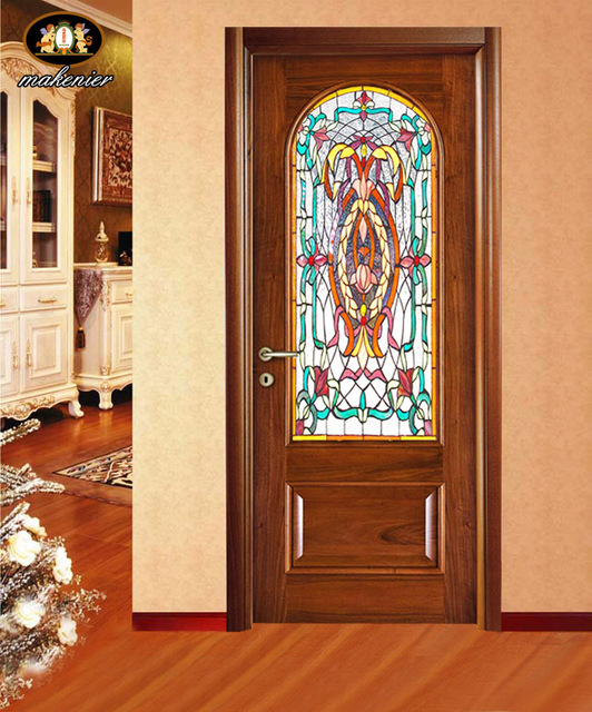 Sliding Doors And Sliding Doors Custom Made Stained Glass Church