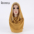68*168 cm Venta Caliente Lentejuelas Gasa Scarve Hijabs Musulmán Otoño e Invierno Marca Mujeres de Alta Calidad Chal 14 colores # A005