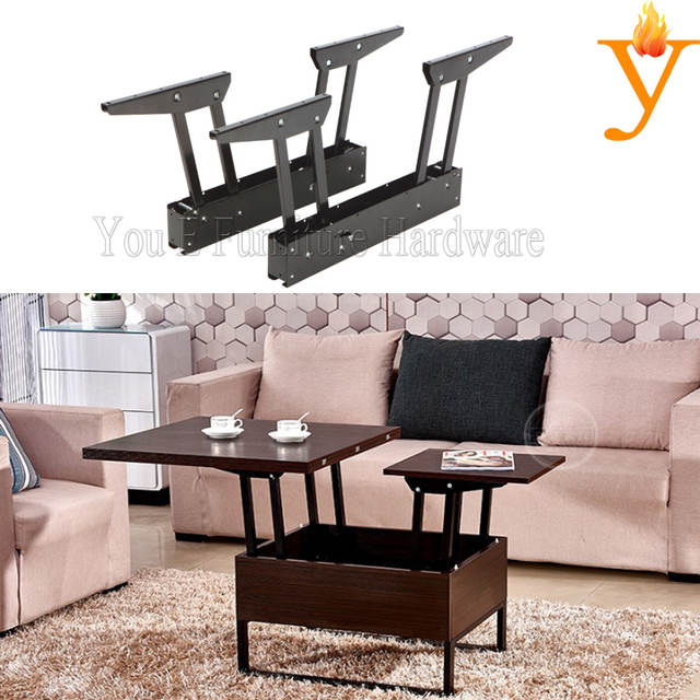 Us 29 99 Metal Furniture Hardware Parts Small Size Extendable Life Top Up Coffee Table Mechanism B09 In Cabinet Hinges From Home Improvement On