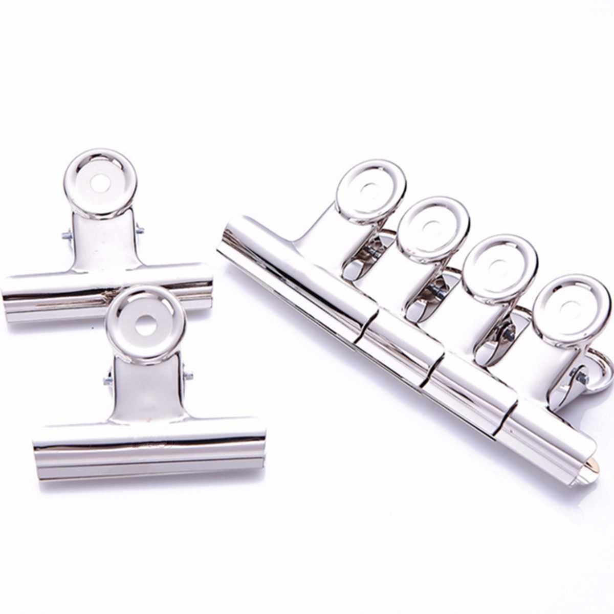10PCS 20mm Grip Clips Bulldog Money Clip Letter Binder Paper Metal Clamp CL G1W4